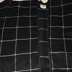 Checkered Poncho